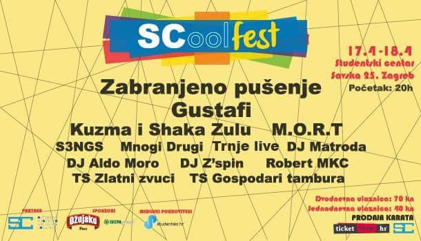 Photo of SCool Fest – osvježenje na zagrebačkoj festivalskoj sceni