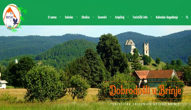 Photo of Visit Brinje – nova internetska stranica Turističke zajednice Brinje