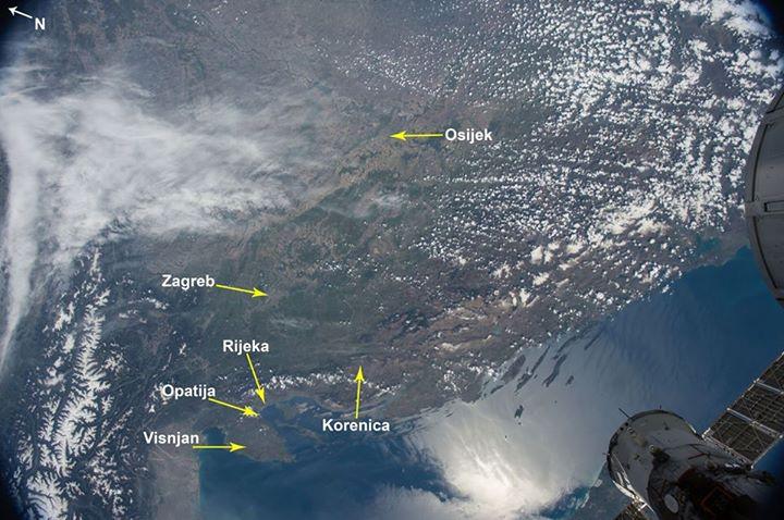 Photo of I lička Korenica na karti od NASA-e!