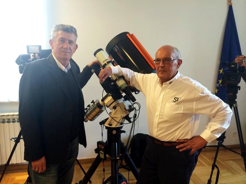 """Photo of U Udbini predstavljen projekt tvrtke Swiss Space System """"Iz Udbine u svemir"""""""