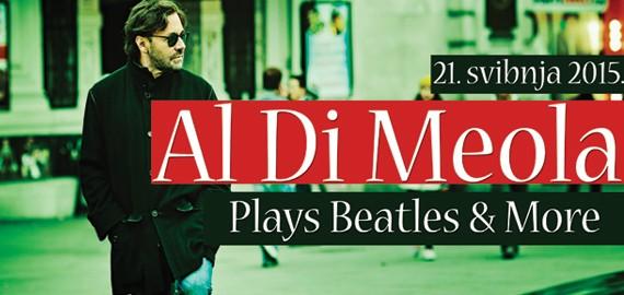 Photo of Gitaristički virtuoz Al Di Meola svira Beatlese u Lisinskom