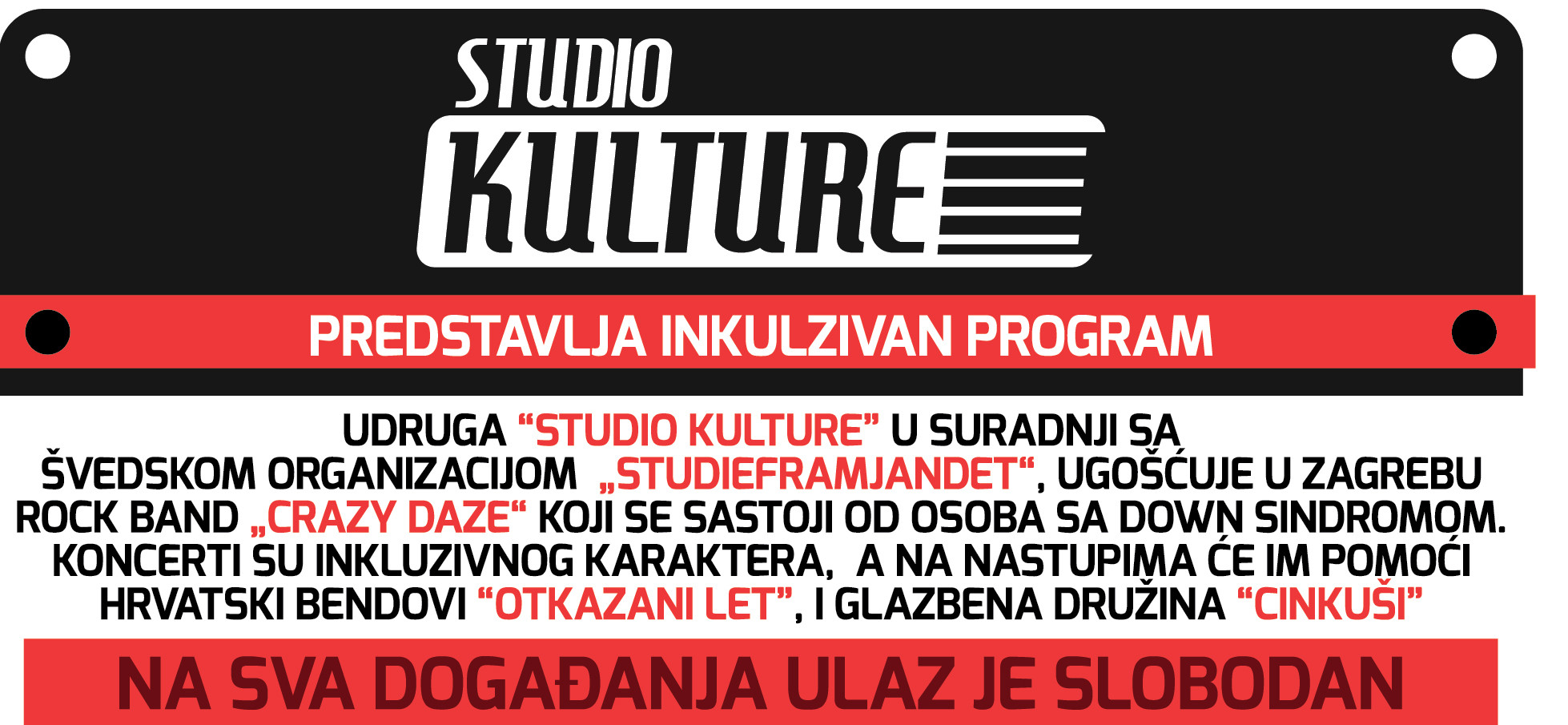 Photo of Studio Kulture poziva