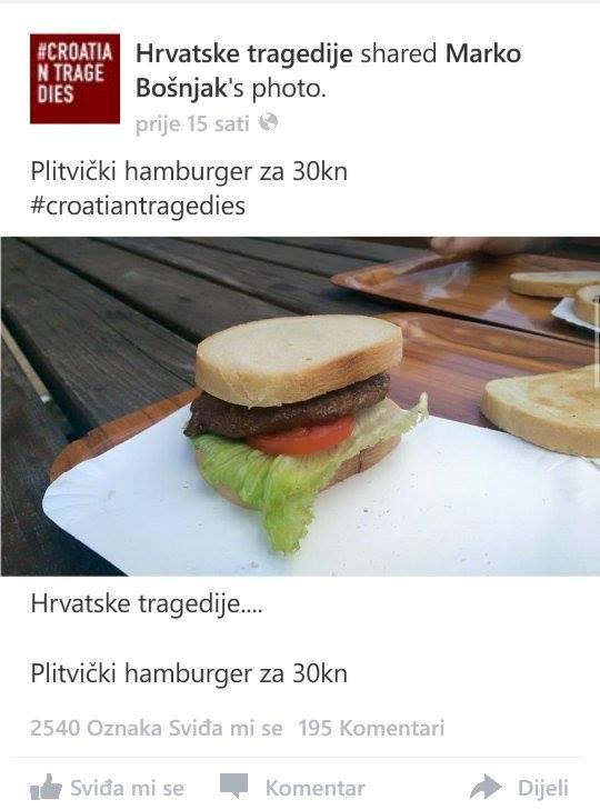 Photo of Hamburger s Plitvica: Iz Nacionalnog Parka sankcionirati će odgovorne