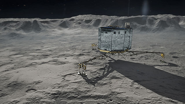 Photo of Probudio se Philae