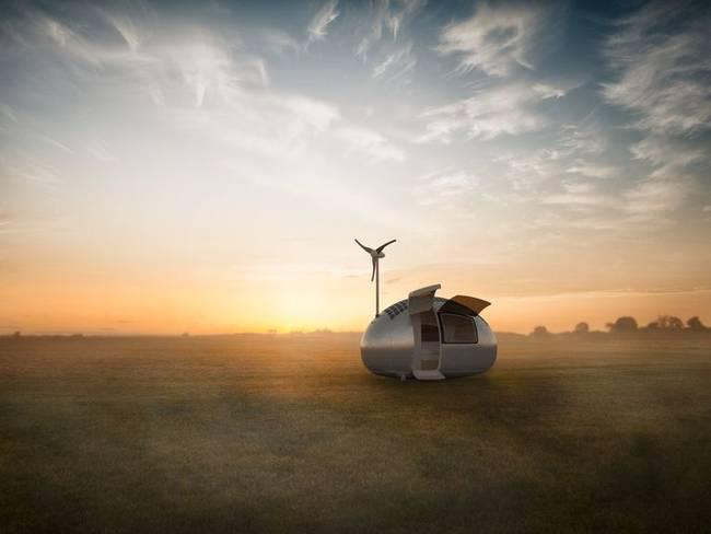 Photo of Eko-kapsula: Ovaj pokretni dom ima samo 8 kvadrata