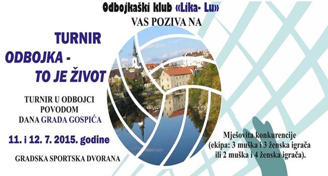 Photo of Odbojkaški turnir u Gospiću povodom Dana Grada