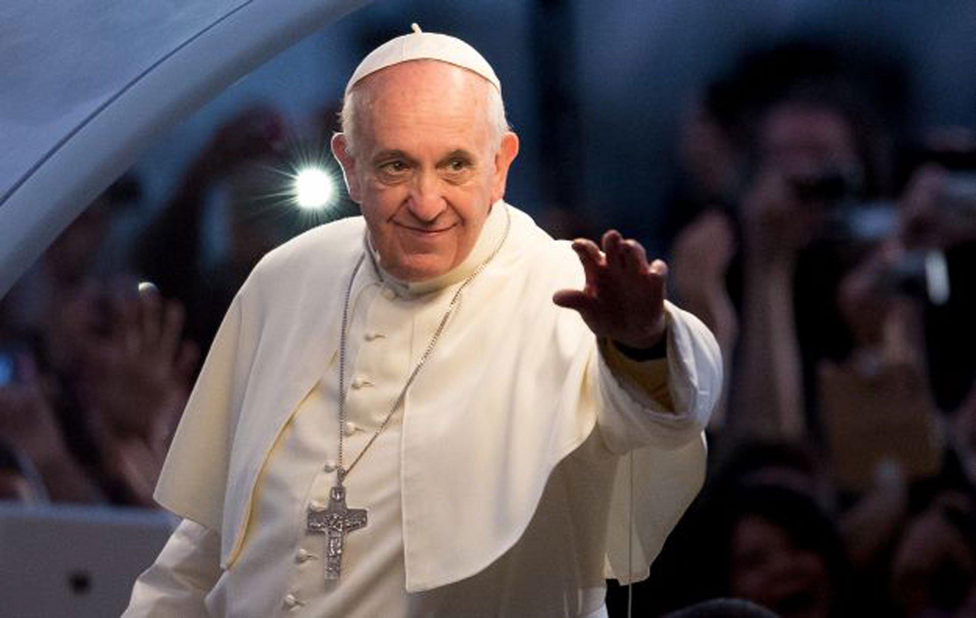 Photo of Papa Franjo u Sarajevu