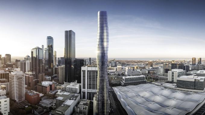 Photo of Ovaj neboder dizajniran je prema oblinama jedne slavne pjevačice