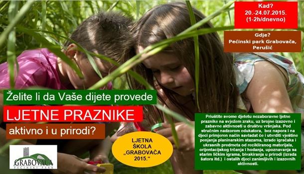 Photo of Ljetna škola Grabovača 2015 – PRIJAVITE svoju djecu!