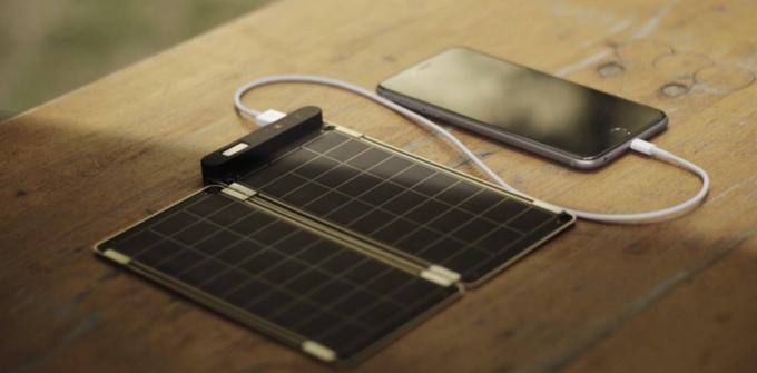Photo of Solar Paper – tanki i lagani solarni punjač za mobitel