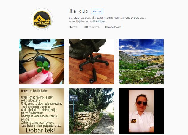 Photo of Ličani se pojavili na Instagramu! FOLLOW lika_club