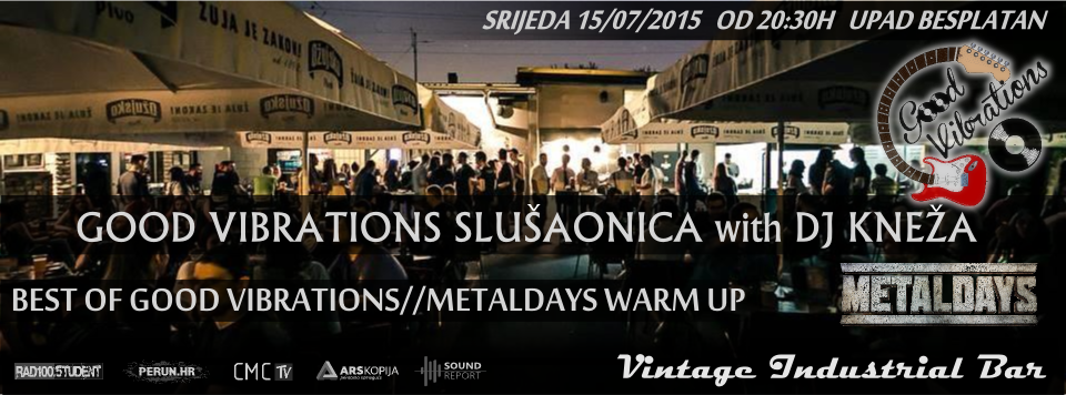 Photo of Slušaonica u Zagrebu – ljetni Good Vibrations!