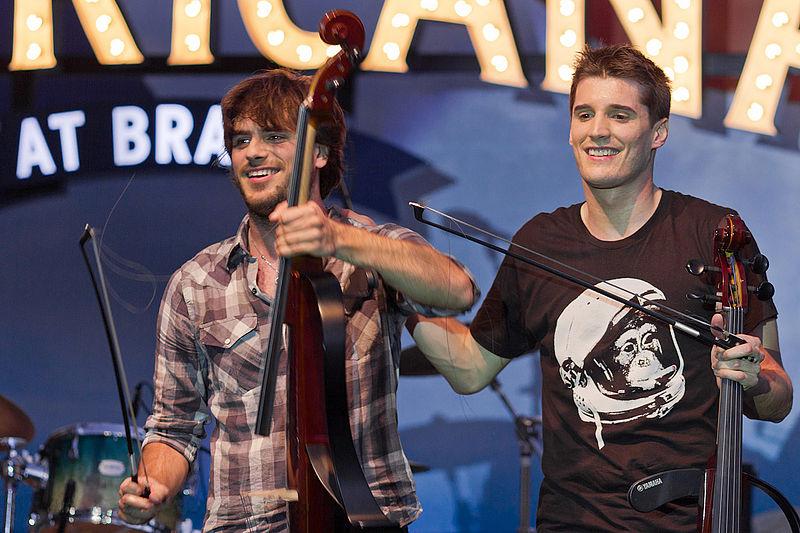 Photo of 2Cellos 14. kolovoza na zadarskom Forumu