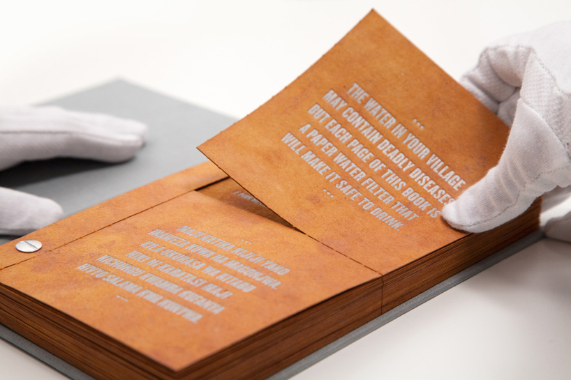 Photo of Knjiga koja filtrira vodu