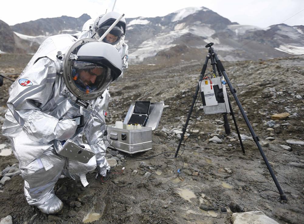Photo of Austrijski glečer kao simulacija Marsa