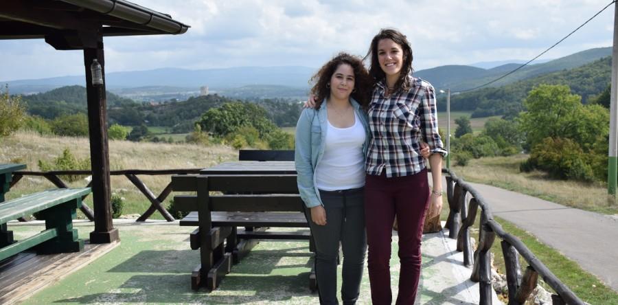 Photo of Nove volonterke iz Francuske stigle u Grabovaču