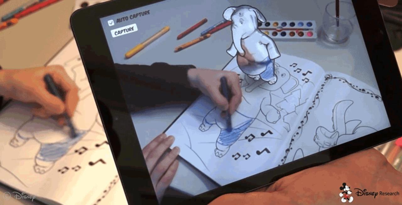 Photo of Aplikacija koja oživljava likove iz bojanke