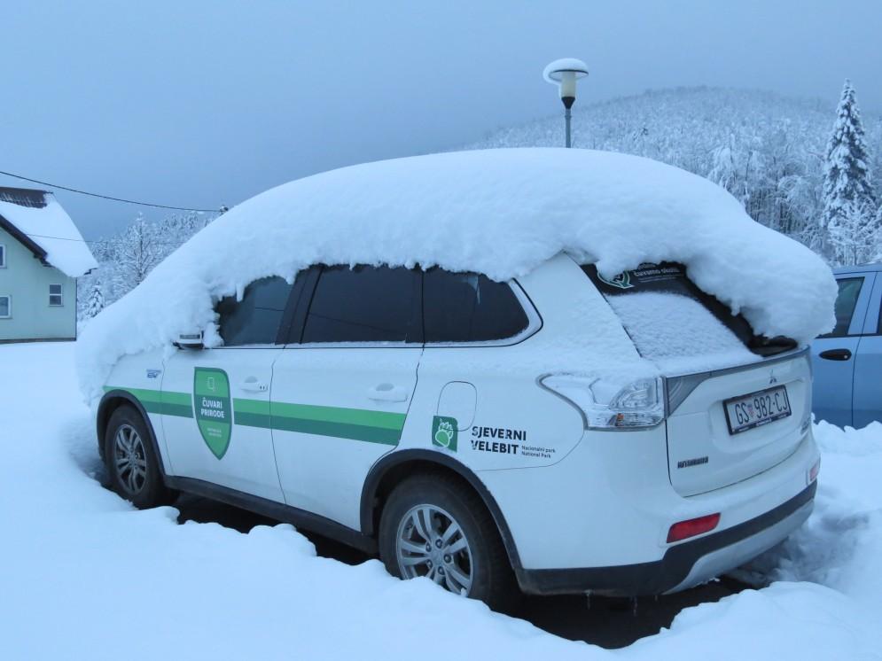 Photo of FOTO Pogledajte jutarnje SNJEŽNO BUĐENJE Nacionalnog parka SJEVERNI VELEBIT