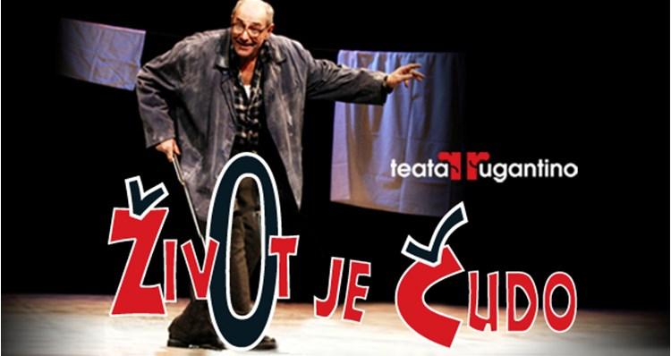 """Photo of Ponuda dana: Predstava """"Život je čudo"""" Teatra Rugantino nasmijat će vas do suza"""