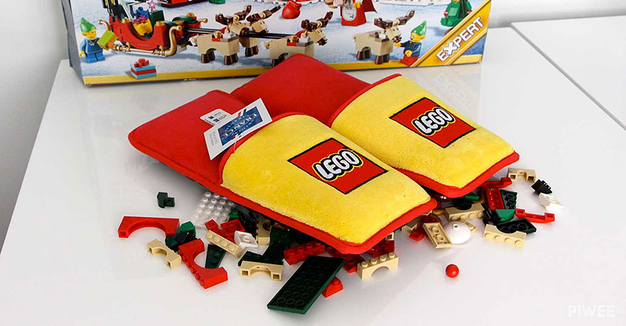 Photo of Anti-LEGO papuče