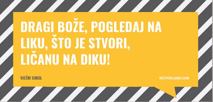 Photo of Ličanke i Ličani – recite to glasno! Lajkajte lički plakat!