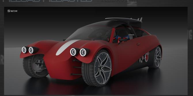 Photo of LM3D Swim – Prvi isprintani automobil za masovnu proizvodnju