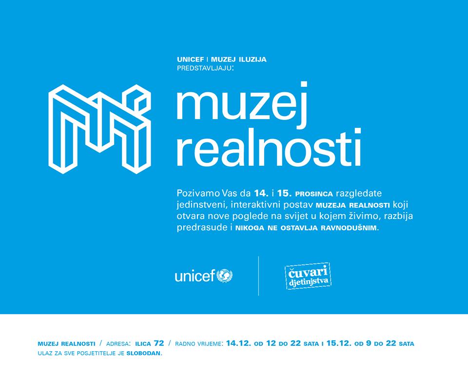 Photo of Muzej iluzija i Unicef otvaraju Muzej realnosti