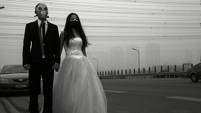 Photo of Smog u Pekingu se može pretvoriti u ciglu