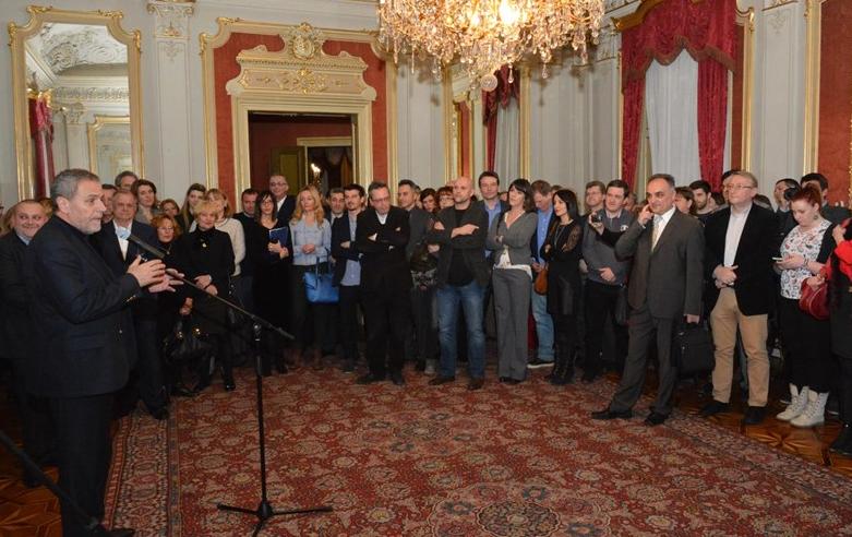 Photo of MILAN BANDIĆ primio novinare u Palači Dverce
