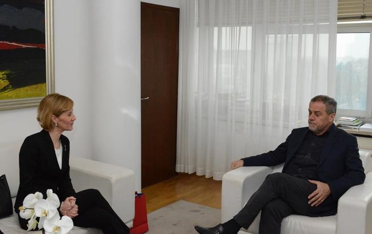Photo of Veleposlanica BIH posjetila za zagrebačkog gradonačelnika BANDIĆA