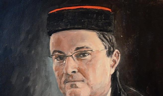 Photo of Lički mandatar OREŠKOVIĆ naslikan S LIČKOM KAPOM