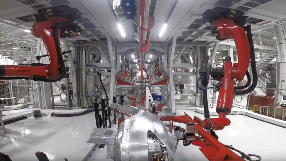 Photo of Simfonija robota: Pogledajte kako nastaje Tesla Model X
