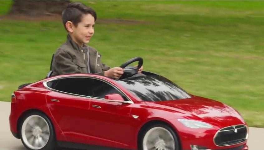 Photo of Tesla Model S – za djecu!
