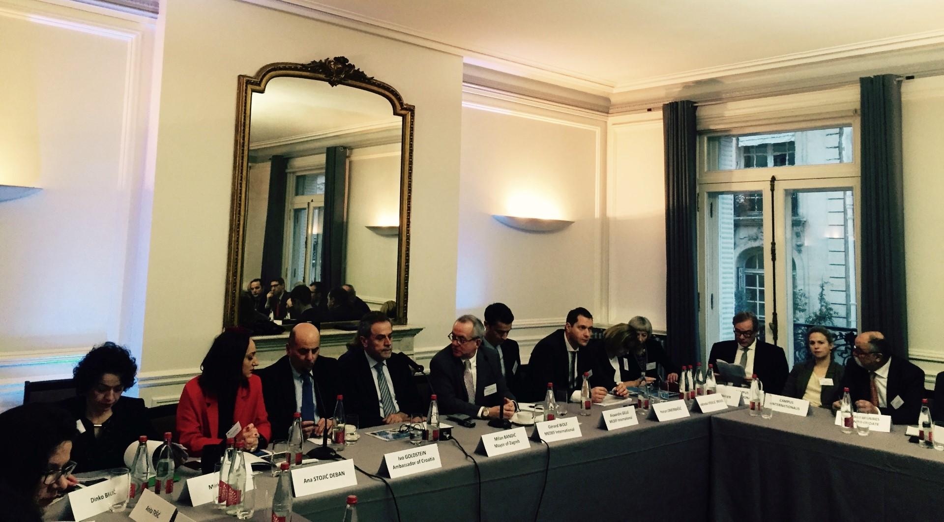 Photo of Milan Bandić predstavio projekte u Parizu; pohvaljena investicijska klima od strane francuskih poduzetnika
