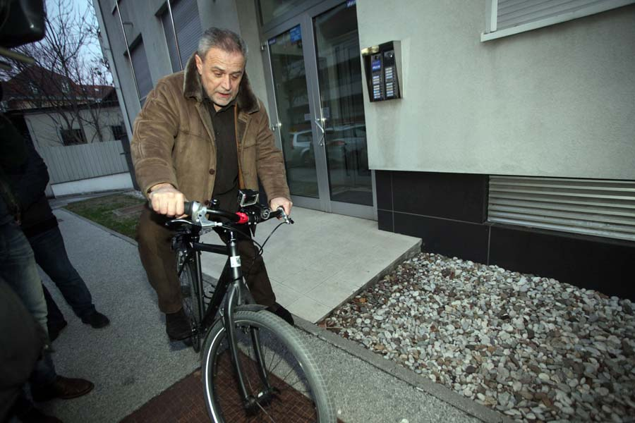Photo of BANDIĆ došao biciklom na posao – međunarodni dan zimske vožnje