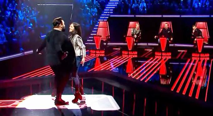 Photo of THE VOICE HRVATSKE: Gospićanka KARLA zapjevala s Jacquesom, ali nije bilo dovoljno