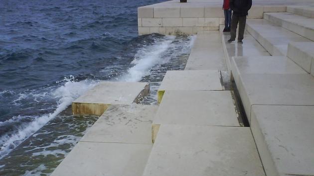 Photo of Oštećene morske orgulje u Zadru
