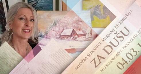 Photo of U petak slikarica Modrušan iz Rakovice izlaže na zagrebačkoj Trešnjevci