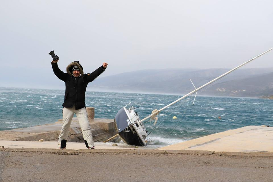 Photo of Senjska bura danas ide i preko 186 km/h!