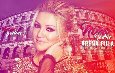 Photo of Nina Badrić najavila koncert u pulskoj Areni