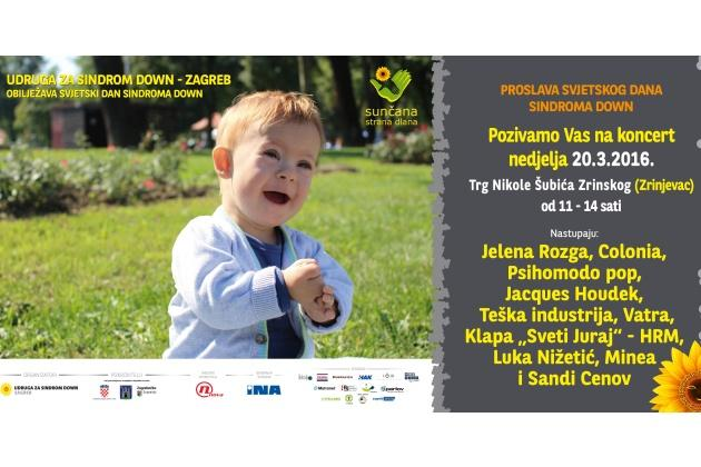 Photo of Udruga Down sindrom i grad Zagreb koncertom obilježavaju Svjetski dan Down sindroma