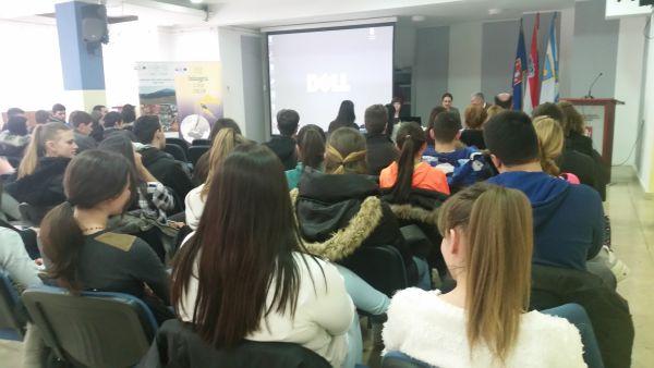 Photo of Lički učenici odslušali radionice o Poduzetničkom E-inkubatoru u Gospiću