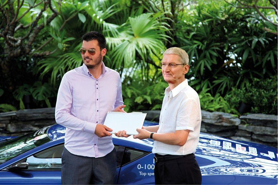 Photo of Rimac i Apple u radu na zajedničkom autu?