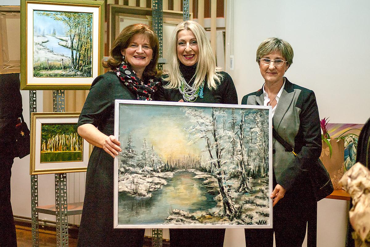 Otvaranje izložbe slika Mirjane Modrušan: Za dušu
