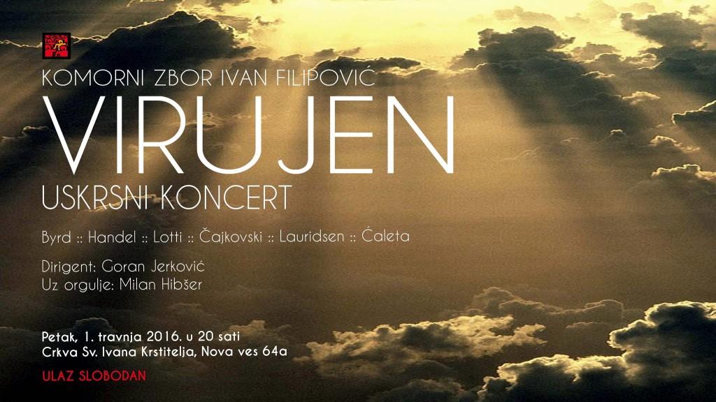 Photo of Uskrsni koncert Komornog zbora Ivan Filipović