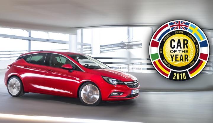 Photo of Car of the Year: Opel Astra proglašena europskim autom godine