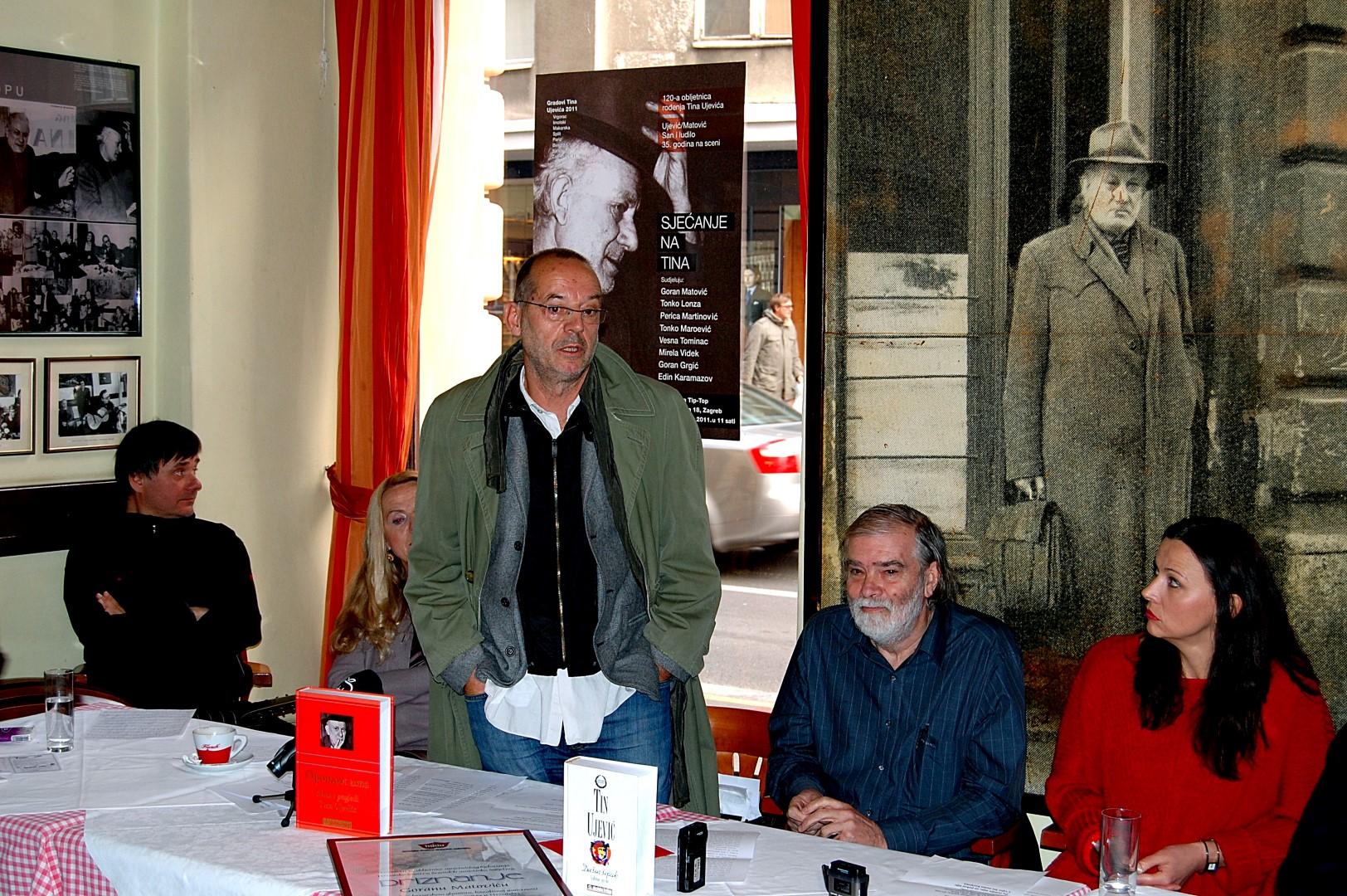 Photo of NAJAVA: Goran Matović četrdeset godina s Tinom ovog četvrtka