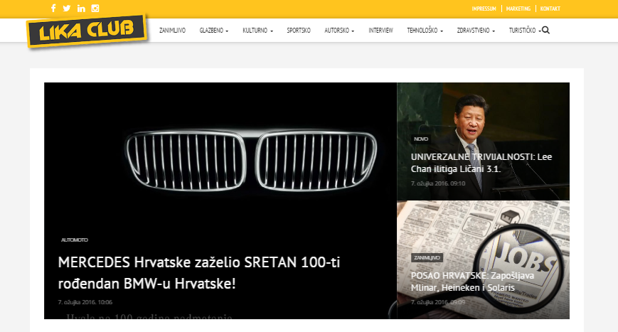 Photo of Novo vrijeme, novi LIKACLUB! Pogledajte naš potpuno novi dizajn portala