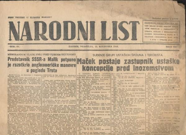 Photo of Crtice iz povijesti: Najstarije hrvatske novine koje još izlaze