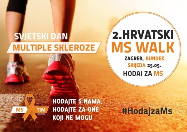 Photo of Hodaj za MS – 2. MS walk 25. svibnja na Bundeku